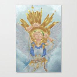 No Gods, Only Me Canvas Print