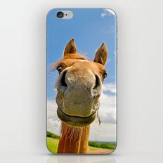 Keep smiling iPhone & iPod Skin