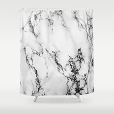 Marble #texture Shower Curtain