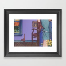 another sad story Framed Art Print