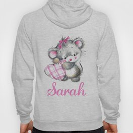 Sarah - Little Mouse Hoody