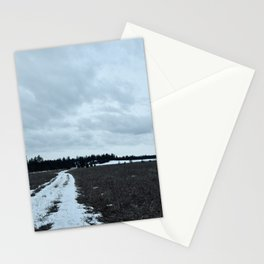 Cloudy Field Stationery Cards