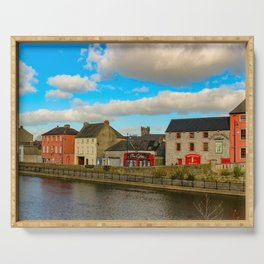 Kilkenny Ireland skyline Serving Tray