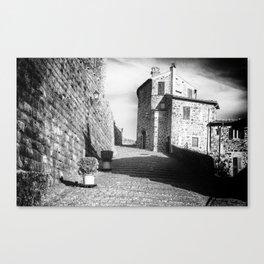 Passage to the castle Canvas Print