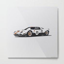 Ford GT40 Metal Print