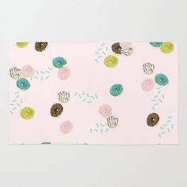 Mini Doughnuts & Sprinkles Rug