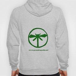 Green Dragonfly Logo T-Shirt Hoody