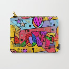 Love Popart by Nico Bielow Carry-All Pouch