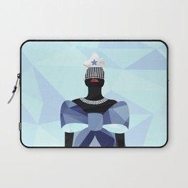 Iemanjá Geométrica Laptop Sleeve
