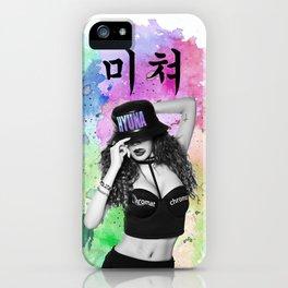 CRAZY 1 iPhone Case