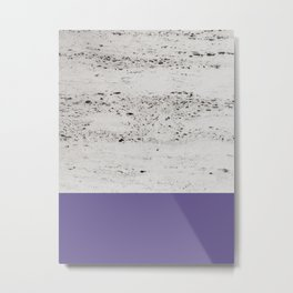 Ultra Violet on Concrete #3 #decor #art #society6 Metal Print