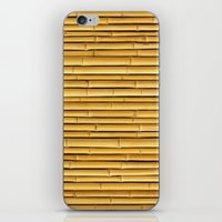 bamboo iPhone & iPod Skins featuring Bamboo by Patterns and Textures