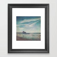 Pier Framed Art Print