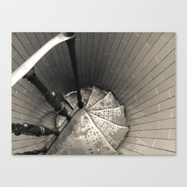 Staircases downwards Cupola (Dome) Canvas Print