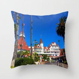 Hotel Del Coronado California Throw Pillow