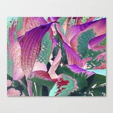 519 - Abstract Garden Design Canvas Print