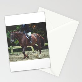 """All Riders Trot Please, All Riders Trot"" Stationery Cards"