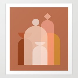 Abstraction_STILL_LIFE_Objects_Minimalism_001 Art Print