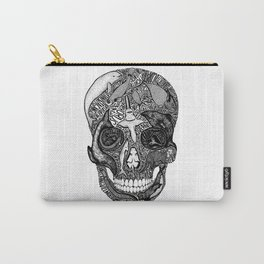 'Death of the Oceans' by Sarah King Carry-All Pouch