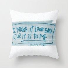 YO-LANDI VI$$ER Throw Pillow