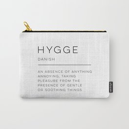Hygge Definition Carry-All Pouch