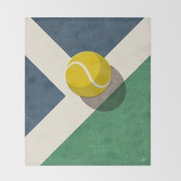 BALLS / Tennis (Hard Court) Throw Blanket