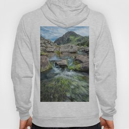 Tryfan Mountain Stream  Hoody