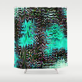 Static Trip Shower Curtain