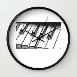 Piano Wall Clock