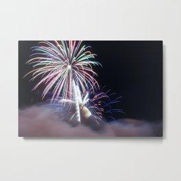 MV Fireworks: From the Smoke Metal Print