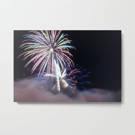 MV Fireworks: From the Smoke Metal Print