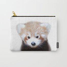 Baby Red Panda, Baby Animals Art Print By Synplus Carry-All Pouch
