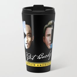 Up All Night to Get Bucky Travel Mug