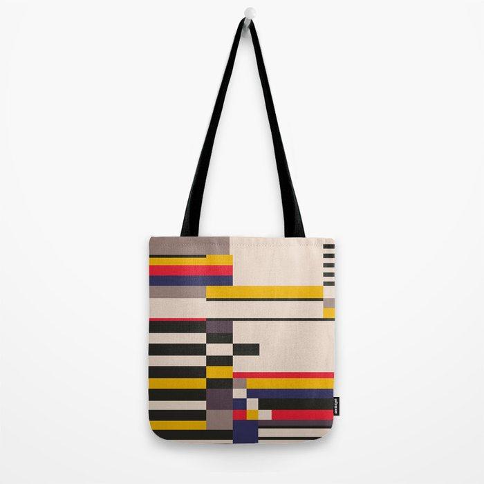 Geometric design - Bauhaus inspired Tote Bag by shamila  f2d0507a60187