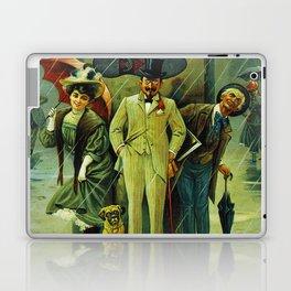 Vintage Russian Galoshes Advertisement Laptop & iPad Skin