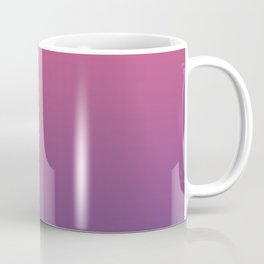 Bright Pink Ultra Violet Gradient | Pantone Color of the year 2018 Coffee Mug