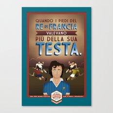 Poster Nostalgica - Platini Canvas Print