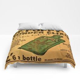 Vintage poster - Dr. Poppy's Wonder Elixir Comforters