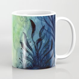 Underwater Ocean Foliage Coffee Mug