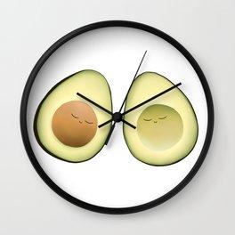 Avocado Friends Wall Clock