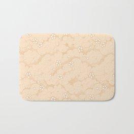 Kumori Nochi Sakura: Orange Bath Mat