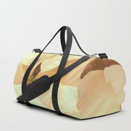 White Poinsettia Duffle Bag