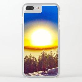 Oregon Wasteland Clear iPhone Case