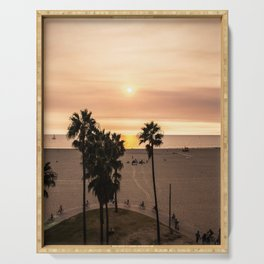 Sunset in Venice Serving Tray