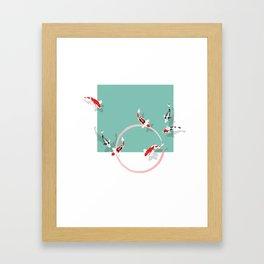 Koï Carp Framed Art Print