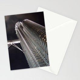Petronas Twin Tower, Malaysia Stationery Cards