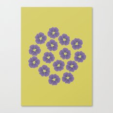 Bunch of Violets Canvas Print