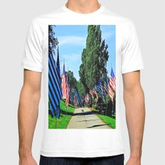 The Road Home Mens Fitted Tee MEDIUM White