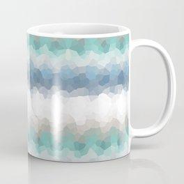 "Abstract pattern "" Blue crush ""  . Coffee Mug"