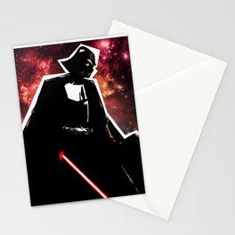 Darth, Dark, Black Stationery Cards